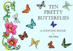 Ten Pretty Butterflies