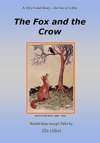 The Fox and the Crow - Aesop, literature, play-reading, literature, literacy, reading, learning and teaching.